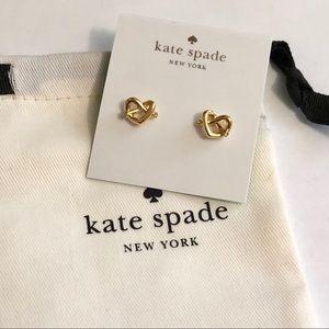 Kate Spade Love Knot Earrings
